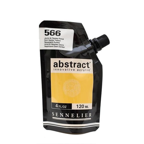 Sennelier Abstract Acrylverf Dark Naples Yellow 120 ml