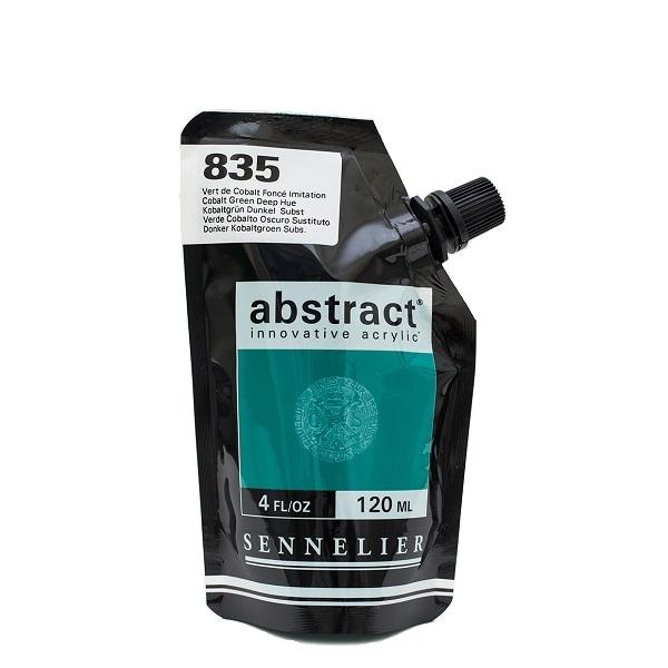 Sennelier Abstract Acrylverf Cobalt Green Deep Hue 120 ml