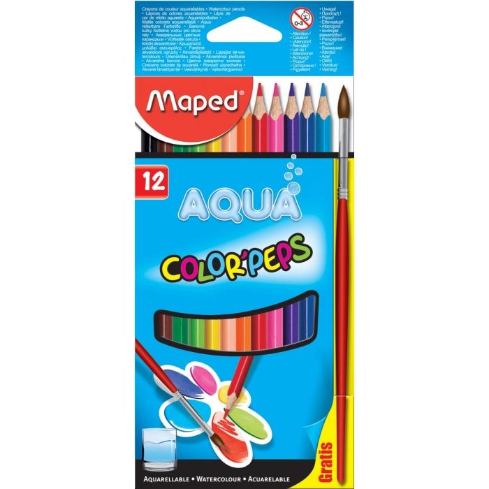 Maped Aquarelpotlood Colorpeps Aqua 12 potloden