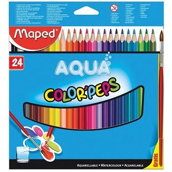 Maped Aquarelpotlood Colorpeps Aqua 24 potloden