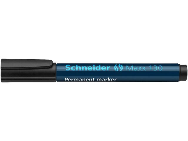 SCHNEIDER MARKER MAXX 130 PERMANENT 1-3MM ZWART