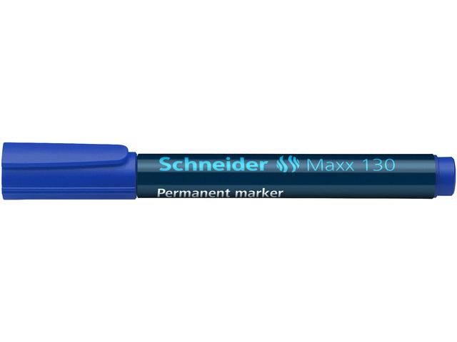SCHNEIDER MARKER MAXX 130 PERMANENT 1-3MM BLAUW