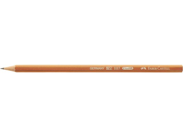 FABER-CASTELL POTLOOD 1117 HB GEVERNIST