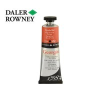 Daler Rowney Georian Oil Pyrrole Red 38 ml