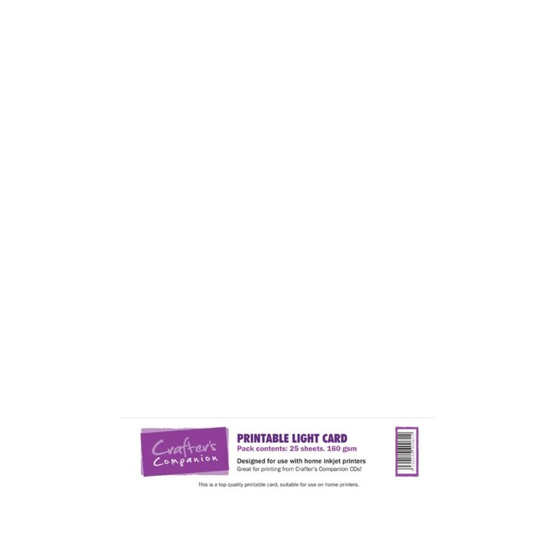 Printable Light Card A4