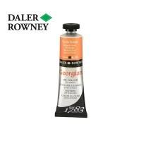 Daler Rowney Georian Oil Pyrrole Orange 38 ml