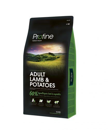 PROFINE DOG ADULT LAM/POT 15KG