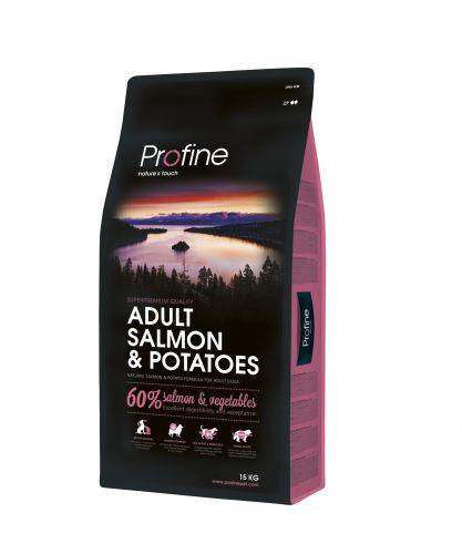 PROFINE DOG ADULT SALMON/POT 15KG