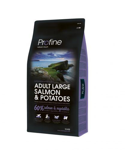 PROFINE DOG ADULT LARGE SALM/POT 3KG