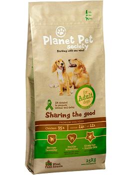 PLANET PET S DOG ADULT 15KG