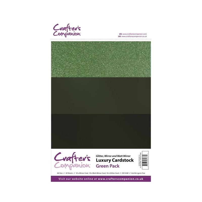 Luxury Cardstock Pack A4 Green