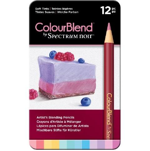 Colourblend Potloden a 12 stuks - Soft Tints (Zachte tinten)
