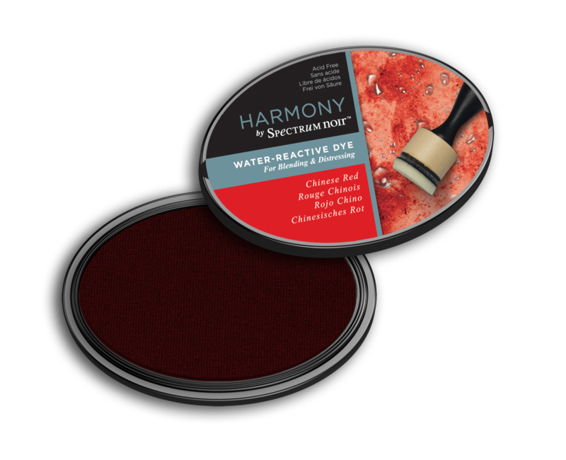 Inktkussen ? Harmony Water Reactive ? Chinese Red