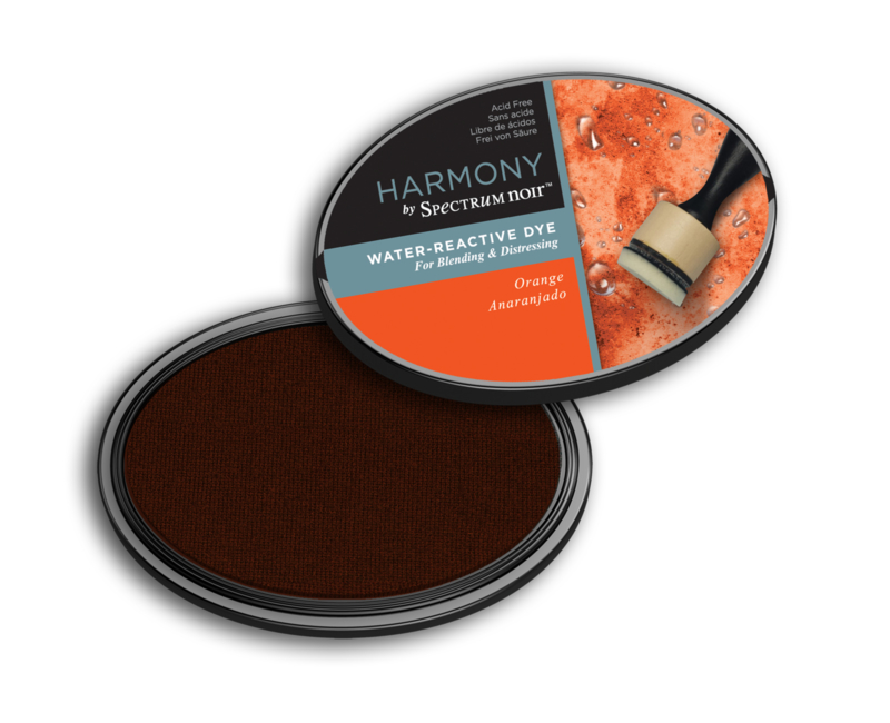 Inktkussen ? Harmony Water Reactive ? Orange