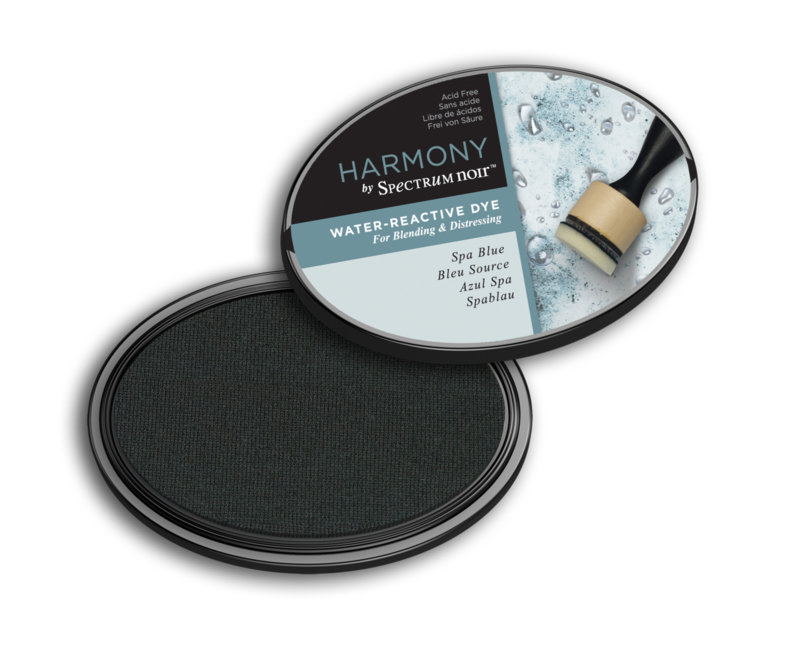 Inktkussen ? Harmony Water Reactive ? Spa Blue
