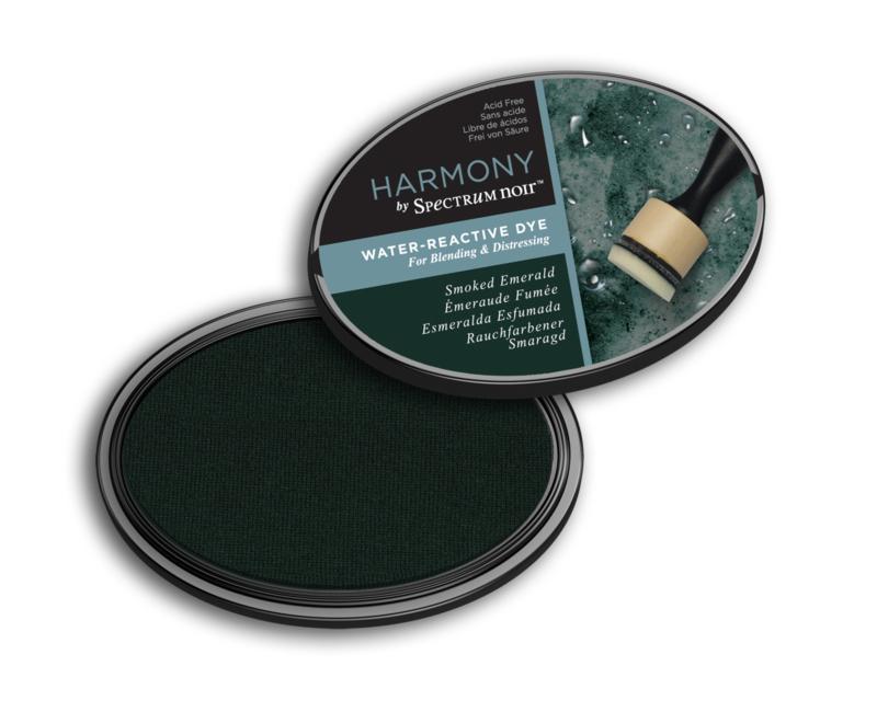 Inktkussen ? Harmony Water Reactive ? Smoked Emerald