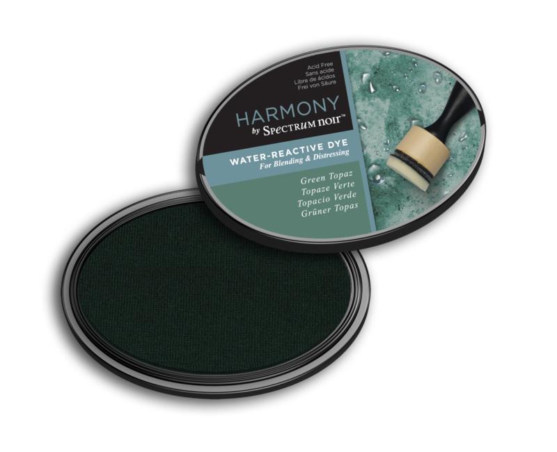 Inktkussen ? Harmony Water Reactive ? Green Topaz