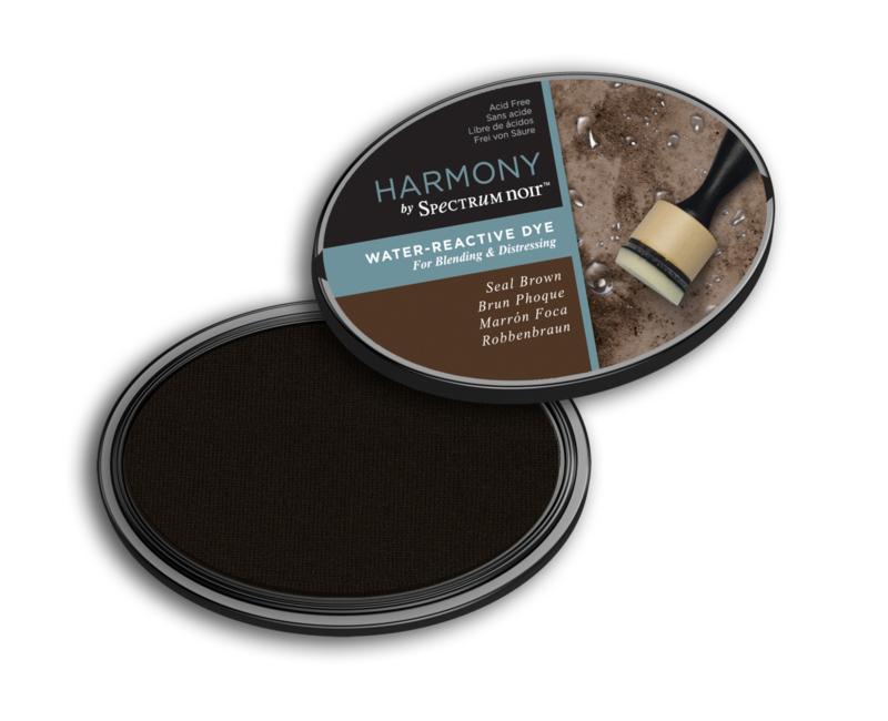 Inktkussen ? Harmony Water Reactive ? Seal Brown