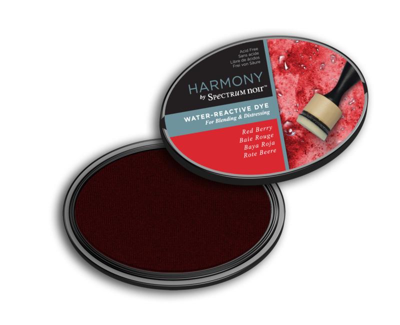 Inktkussen ? Harmony Water Reactive ? Red Berry