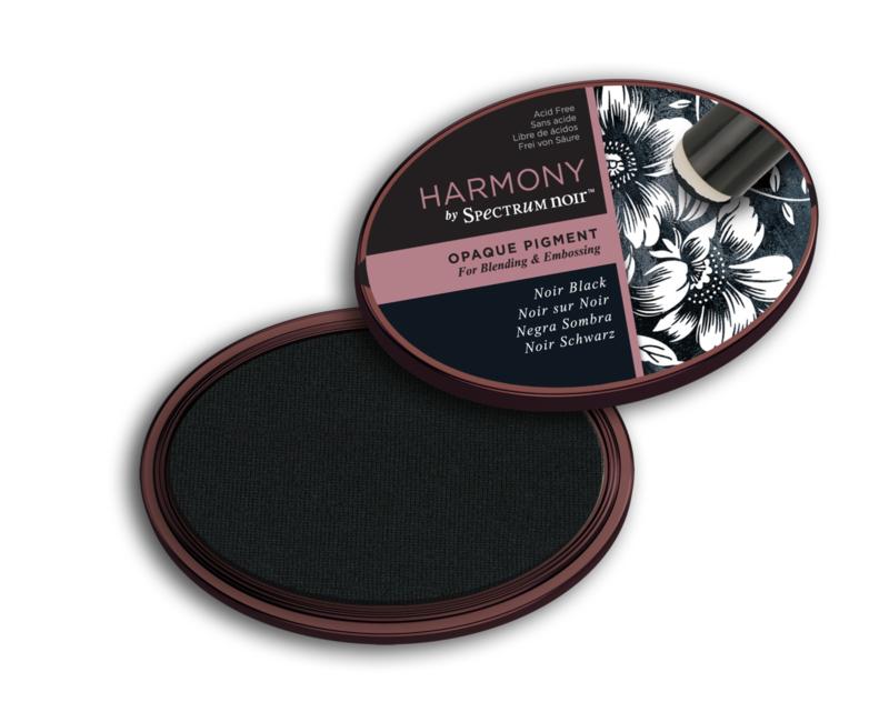 Inktkussen ? Harmony Opaque Pigment ? Noir Black