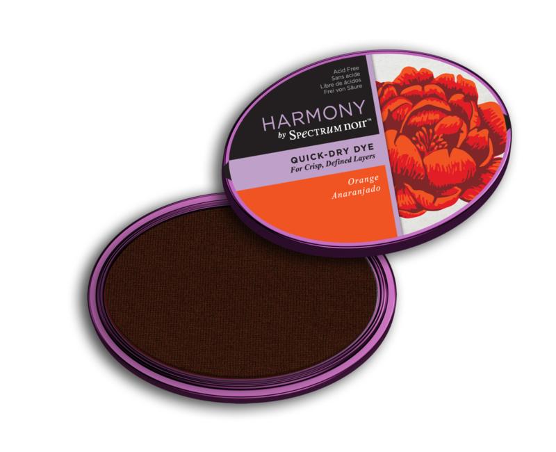 Inktkussen ? Harmony Quick Dry ? Orange