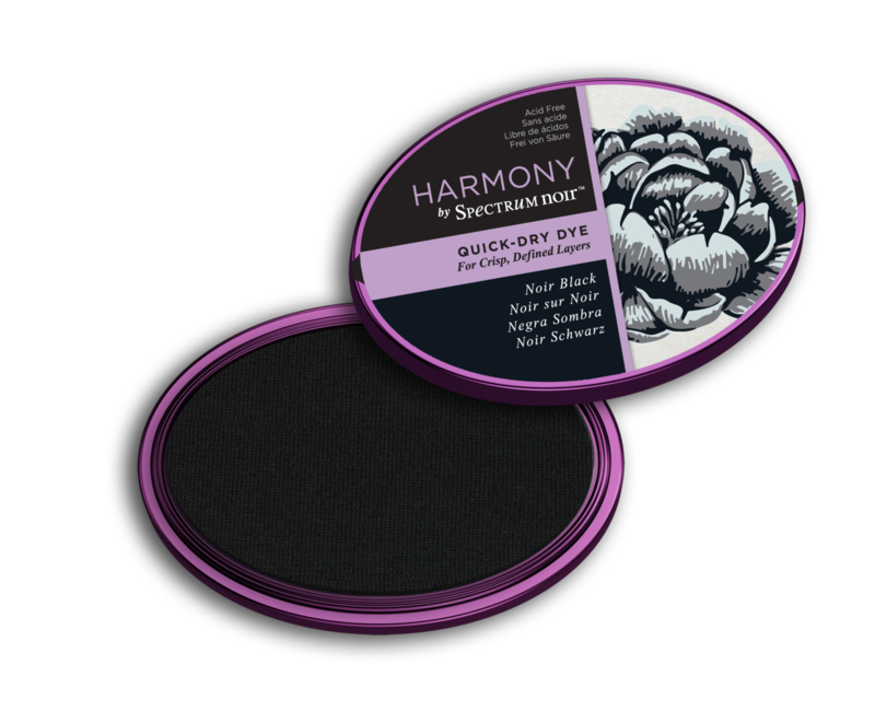 Inktkussen ? Harmony Quick Dry ? Noir Black