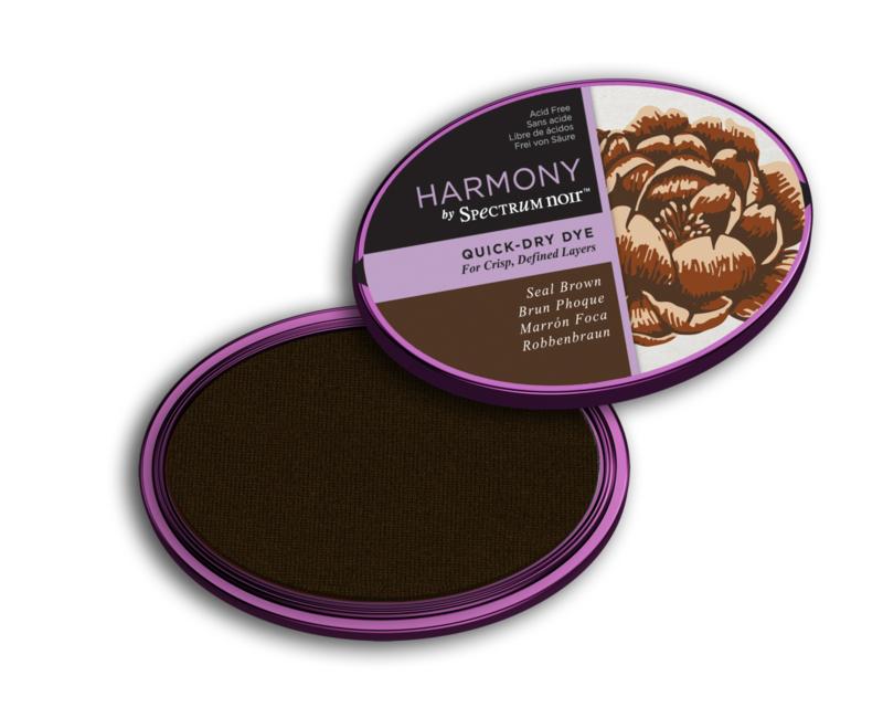 Inktkussen ? Harmony Quick Dry ? Seal Brown