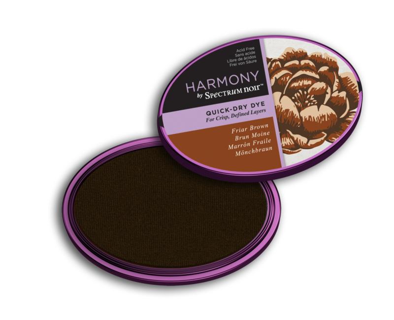 Inktkussen ? Harmony Quick Dry ? Friar Brown