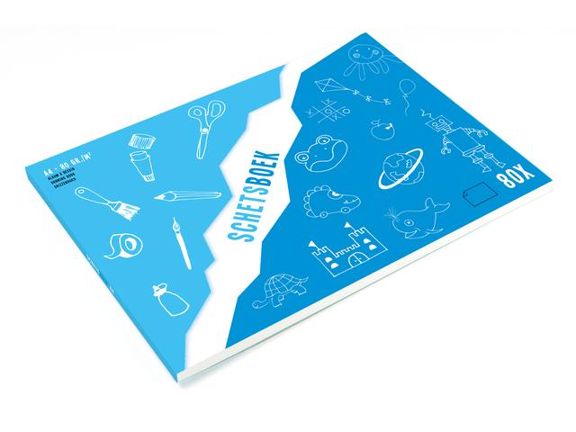 KTC Schetsboek 80 g/m2 A4