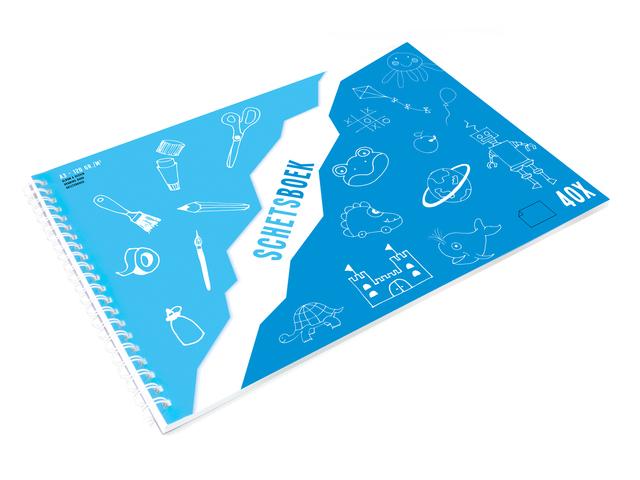 KTC Schetsboek 120 g/m2 A3