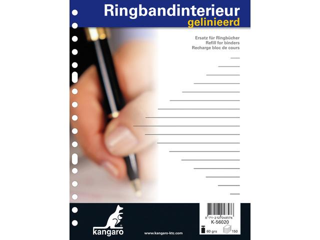 KANGARO RINGBANDINTERRIEUW 17R GELINEERD 150 VEL