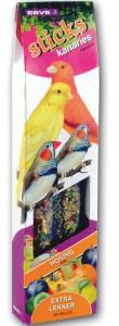 Vogelsticks kanarie appel en ei 1x2 st.