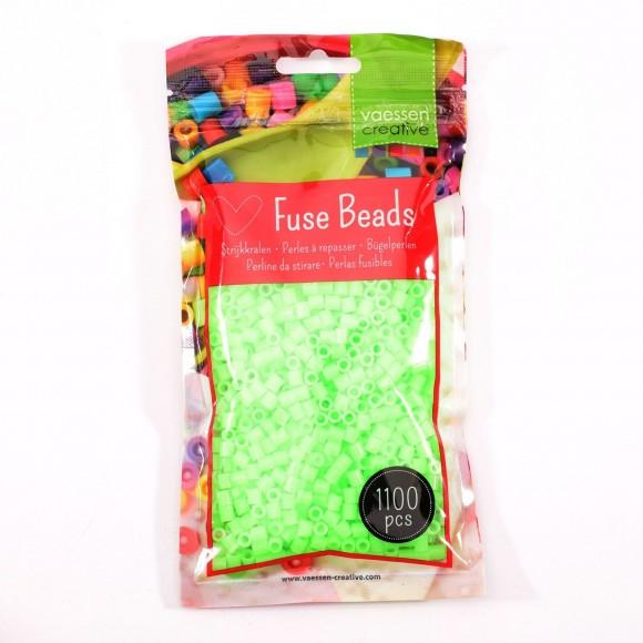 Vaessen Creative strijkkralen 1100pcs Neon Groen