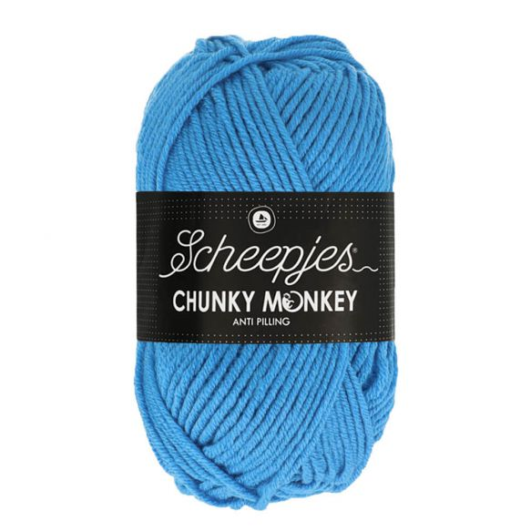 Scheepjes Chunky Monkey 100g - 1003 Cornflower bleu