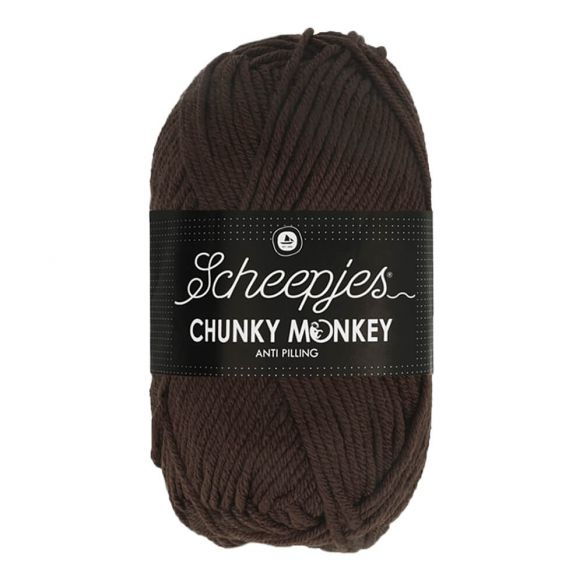 Scheepjes Chunky Monkey 100g - 1004 Chocolate
