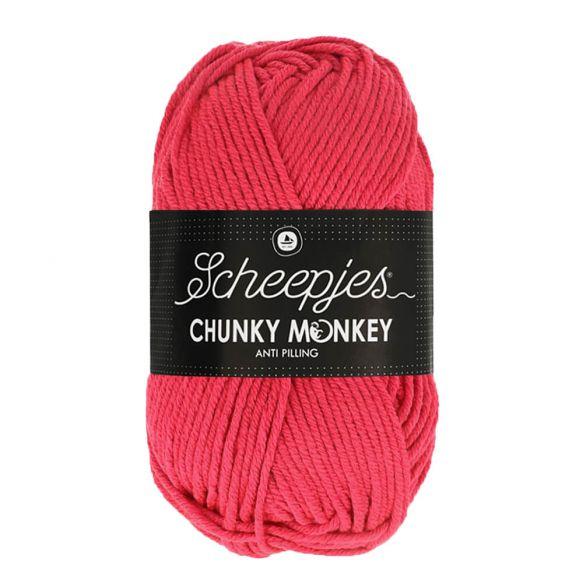 Scheepjes Chunky Monkey 100g - 1083 Candy Apple
