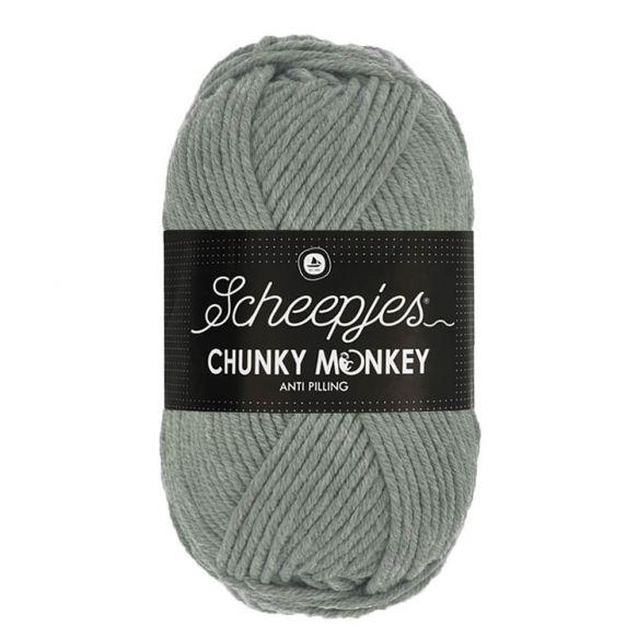 Scheepjes Chunky Monkey 100g - 1099 Mid Grey