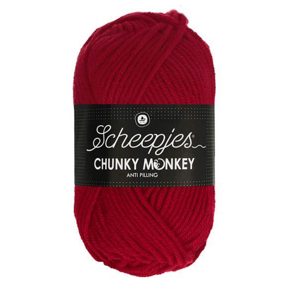 Scheepjes Chunky Monkey 100g - 1246 Cardinal