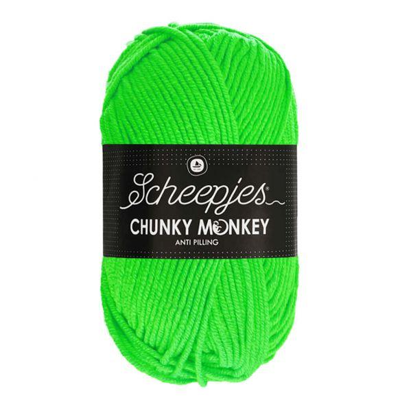 Scheepjes Chunky Monkey 100g - 1259 Neon Green