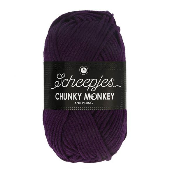 Scheepjes Chunky Monkey 100g - 1425 Purple