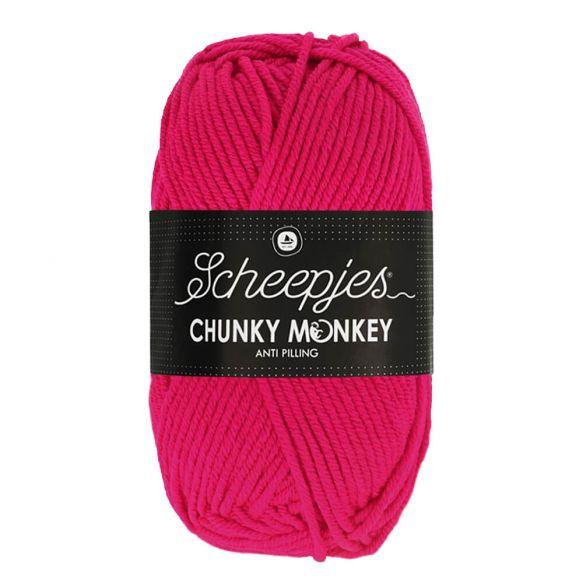Scheepjes Chunky Monkey 100g - 1435 Magenta