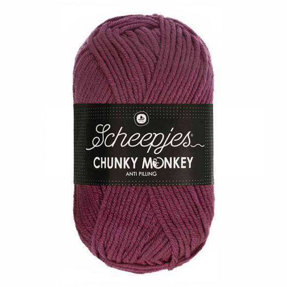 Scheepjes Chunky Monkey 100g - 1828 Grape