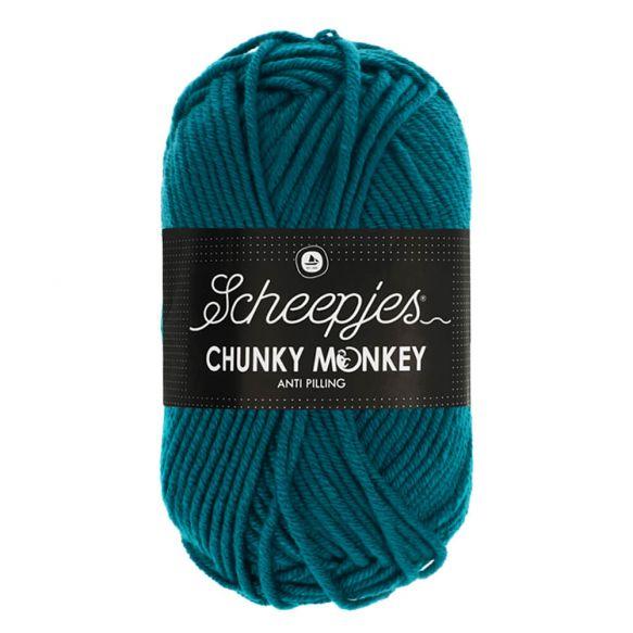 Scheepjes Chunky Monkey 100g - 1829 Teal