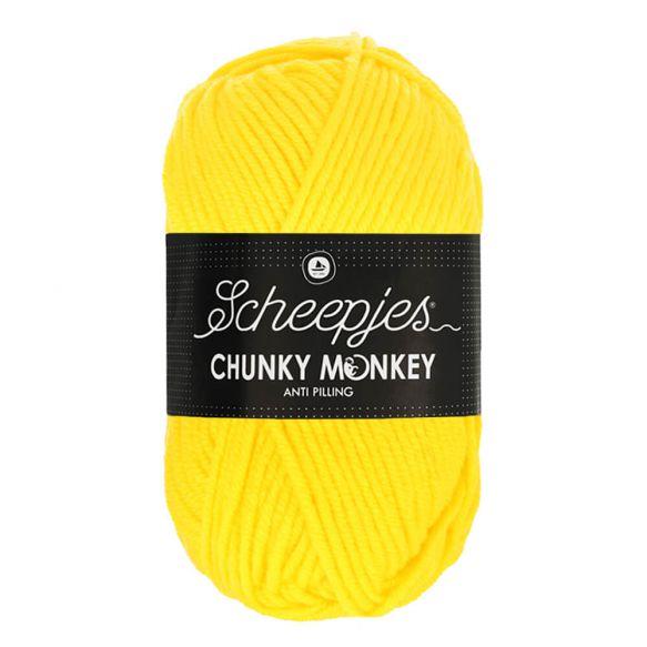 Scheepjes Chunky Monkey 100g - 2008 Yellow