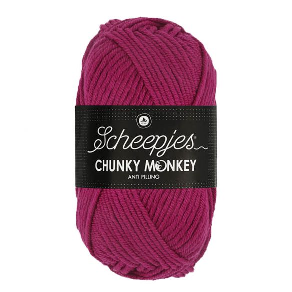Scheepjes Chunky Monkey 100g - 2009 Mulberry