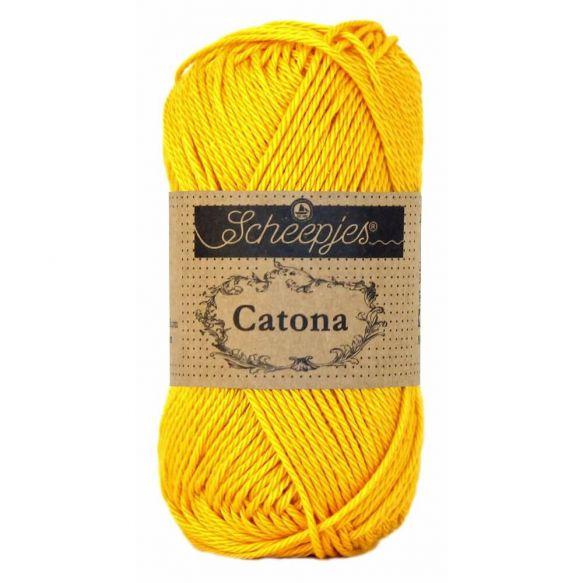 Scheepjes Catona 50gr - 208 Yellow Gold