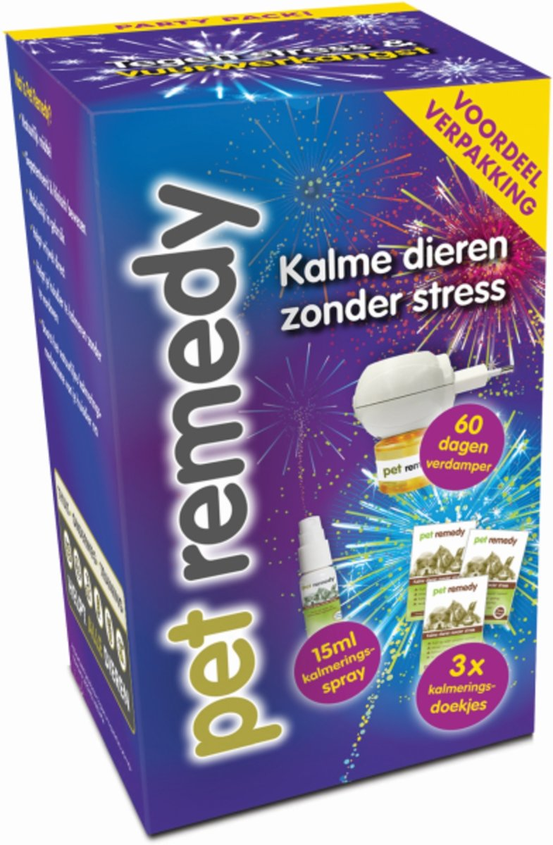 PET REMEDY PARTY PACK VUURWERKANGST