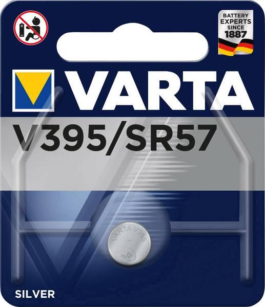 Varta silver knoopcel batterij V395 1,55V