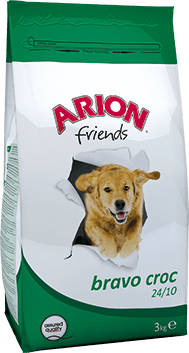 ARION HOND BRAVO CROC 24/10 15 KG
