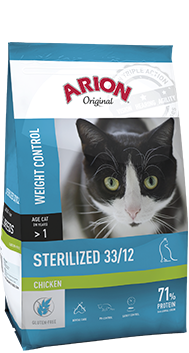 ARION K ORIGINAL STERILEZED CHICKEN 2 KG